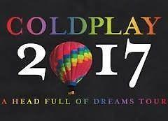 Coldplay Sitting Ticket x1