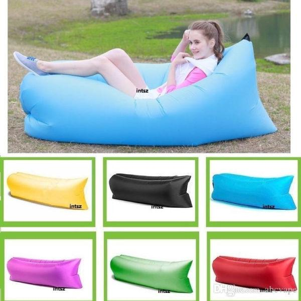 IPRE outdoor mini square headed lazy seat couch sofa fast air inflatable camping travel beach