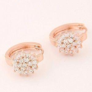 Fashion Ear Clips - Rose Gold
