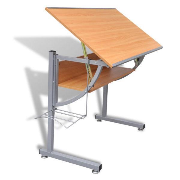 Art & Drafting Tables : Teenager's Drafting Table Height Adjustable Tiltable(SKU241022)