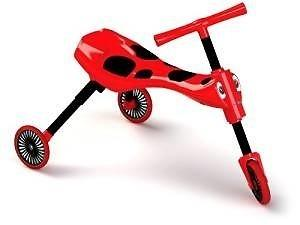 Scuttlebug red and black 10€