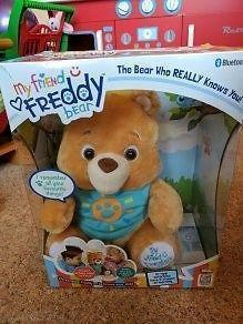 My Friend Freddy Bear (never used, still in box)