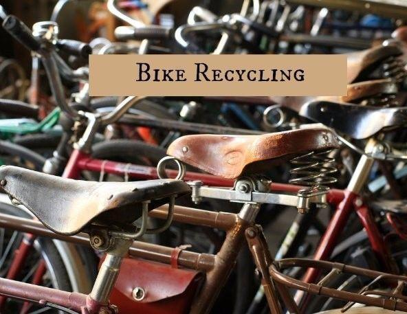 Your Unwanted Bikes Recycled For Free
