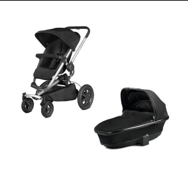 Quinny buzz extra with lifetime warranty including carrycot and accessories