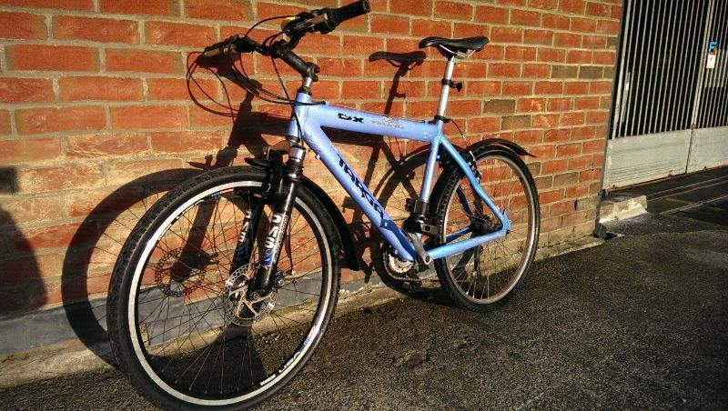 Bike Viking Targa Dx ALUMINIUM FRAME, DISC BRAKE ,SUSPENSION mudguards