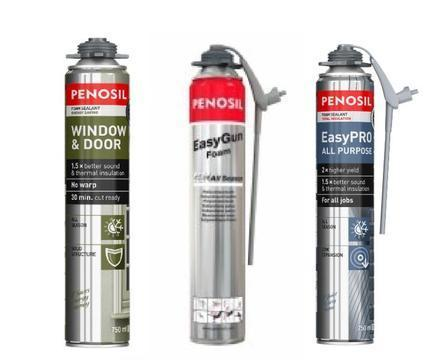 Expansion, Fixing, Adhesive and Insulating foams