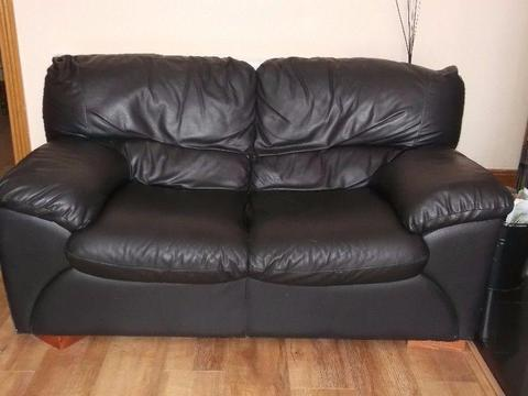 Free - 3 + 2 seat leather chairs