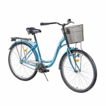 DHS Citadinne Ladies City Bike alloy dinamo