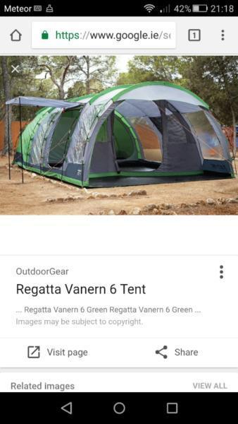 Regetta 6 man tent
