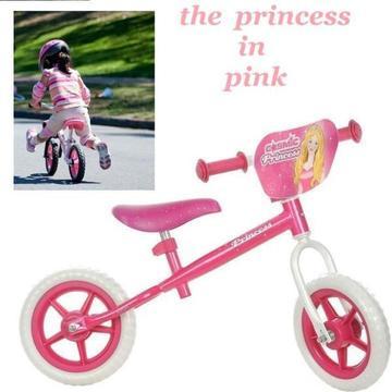 Princess Balance Bike with 10