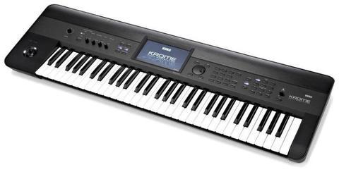 Kork Krome 61 Key Pro Keyboard And Gig Bag