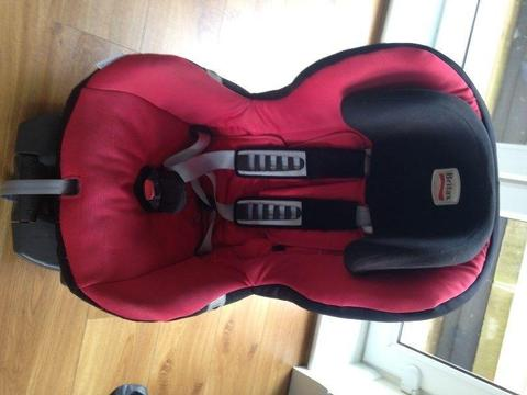 Britax Römer SAFEFIX PLUS (9-18kg) Car Seat – Red. Isofix. 100€