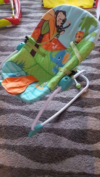 Baby chair + Baby walker €100 for both