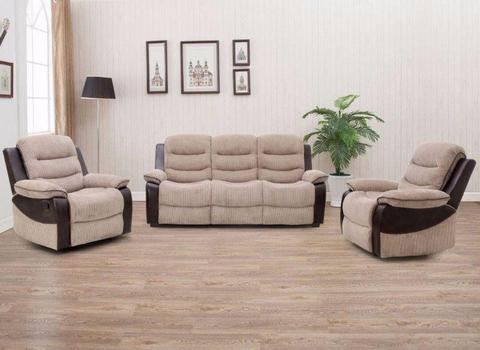 JUST IN ALL NEW 3+1+1 - 3+2 Suites of Furniture *DISCOUNTED 1 WEEK ONLY ORDER WHILE STOCKS LAST*