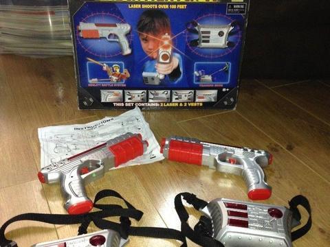 Laser fighter game
