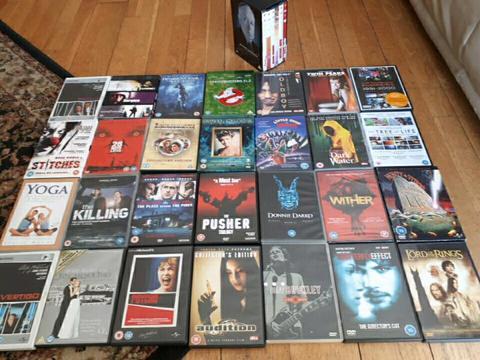 Various DVDs for sales. Starting at €5 each. Negotiable