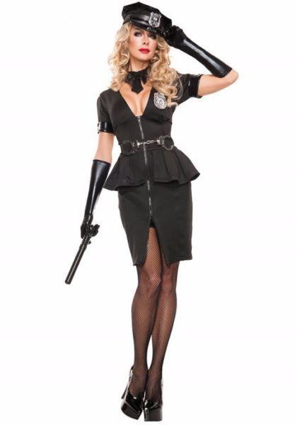 Elegant Cop Costume 10/12 or 18