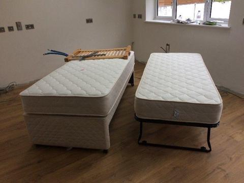 2 Guest Divan Beds for sale. REDUCED TO CLEAR!