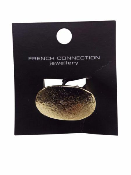 French Connection Gold Foil Rings