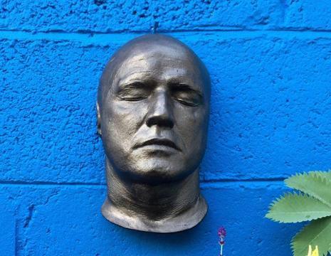 Marlon Brando life mask