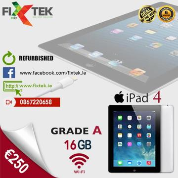 Apple iPad 4th Generation- 16GB- WiFi