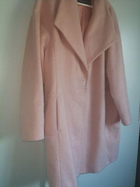 French Connection Coat /Dusty Pink