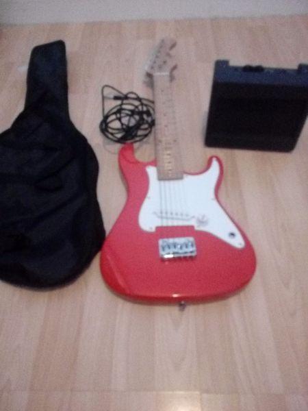 Kids guitar inc amp