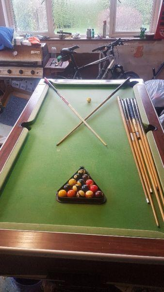 Slate Pool Table 8ft x 4ft