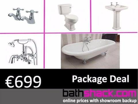 Traditional Freestanding Bath Package