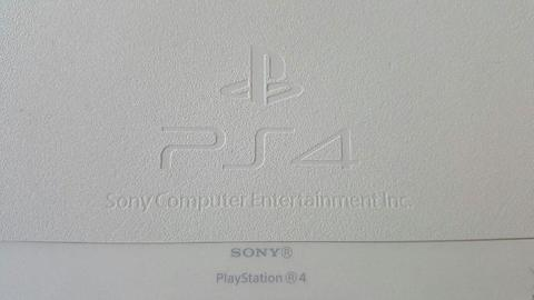 PlayStation 4 500GB White - With One Controller, One Watchdogs Game Rarely Used!