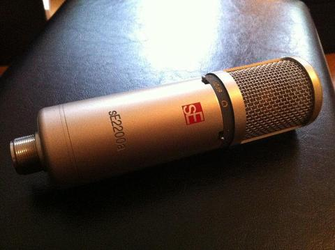SE Electronics condensor microphone 2200a - 50euro