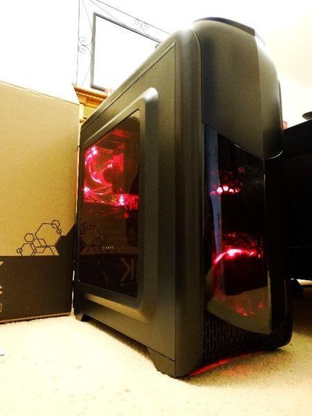 PC GAMING i7, GTX 1050Ti 4GB, 8GB ram