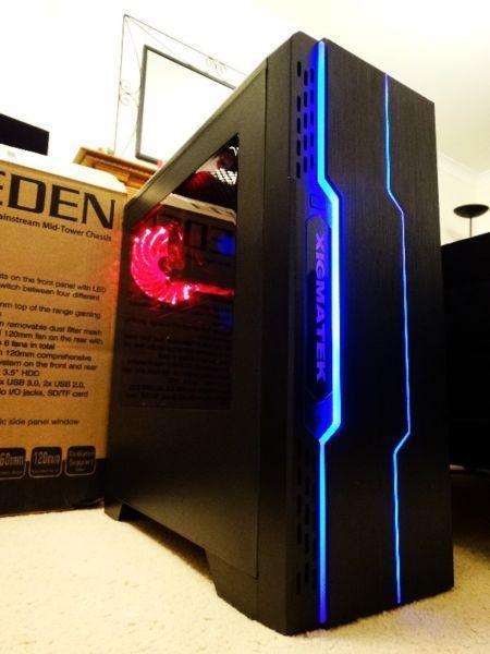 PC Gaming i7, RX 460 4GB, 8GB ram