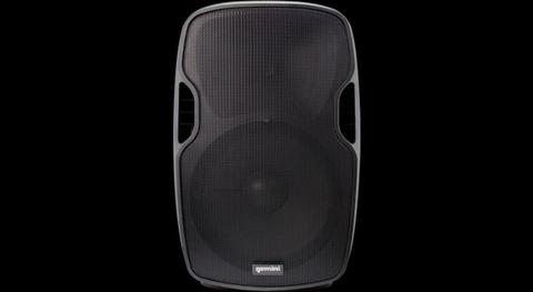 Active Loudspeaker with USB/SD/Bluetooth MP3 Player Gemini AS-15BLU