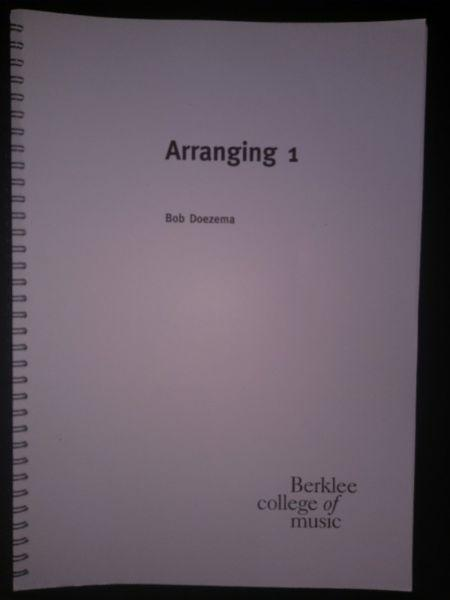 Berklee College Printed Books Arranging Ear Training Workbook Harmony Fore Sale