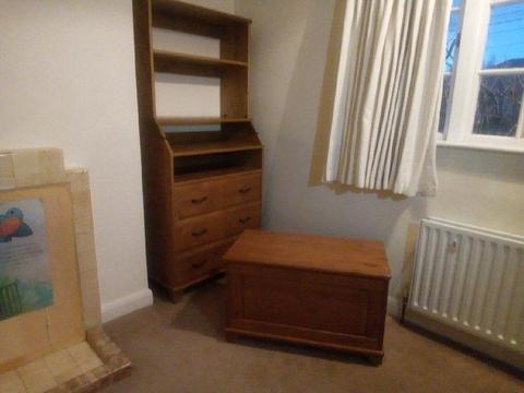 Ikea Diktad Range Bed Chest and Changing Table with Hutch