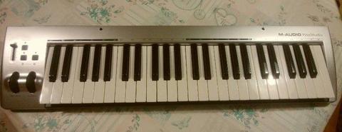[M-Audio KeyStudio 49] MIDI keyboard controller for Mac