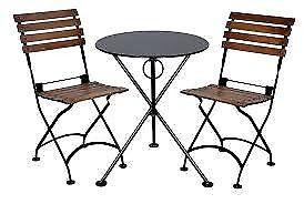 WANTED - small outdoor garden table & 2 chairs - WANTED