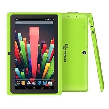 Yuntab Q88 7 Inch Allwinner A33,1.5 Ghz Quad Core Google Android Tablet PC