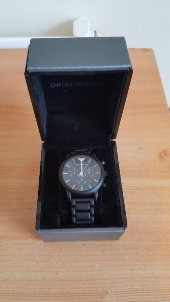 Emporio Armani Watch - Perfect Condition for Sale