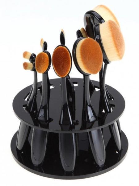 make up brush stand