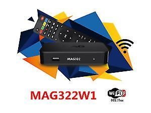 MAG 322 W1 TV BOX + 12 MONTH SUBSCRIPTION