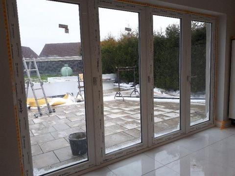 Kommerling PremiFold Invisifold Slide and Swing Patio Doors
