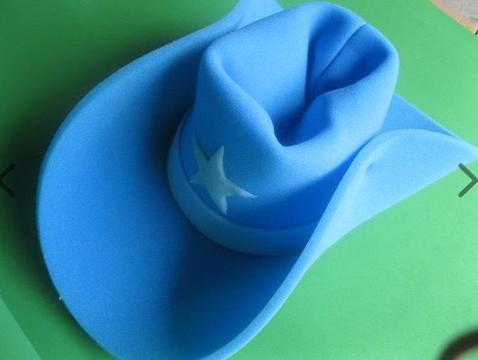 900 (approx) Giant Foam Cowboy Hats FREE