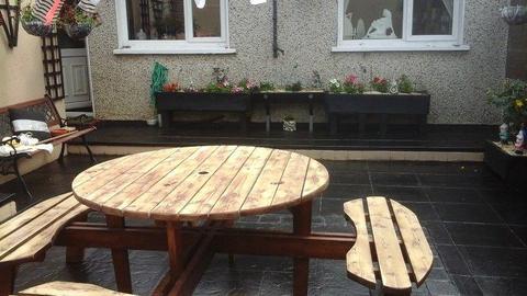 Garden table