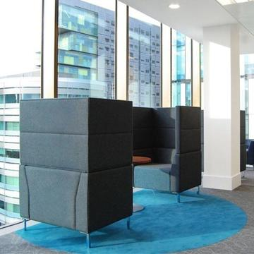 Office Pod Seating - Second Hand - Office Chairs