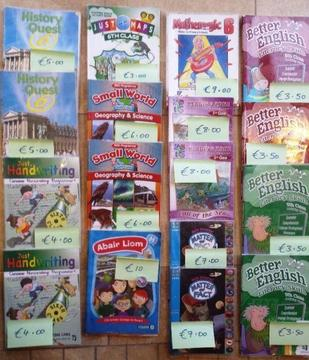 Primary school books for sale - 5th & 6th class