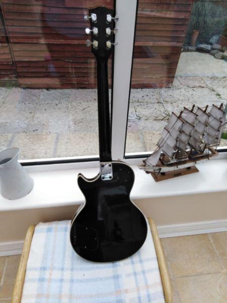 VINTAGE 70s Hondo 2 Les Paul Guitar